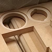 CNC frézování MDF
